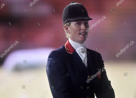 British Equestrian Zara Philips Second-eldest Grandchild of Queen Elizabeth Ii Attends Queen Elizabeth Ii's 90th Birthday Celebrations at the Royal Windsor Horse Show in the Grounds of Windsor Castle in Windsor Near London Britain 15 May 2016 United Kingdom London