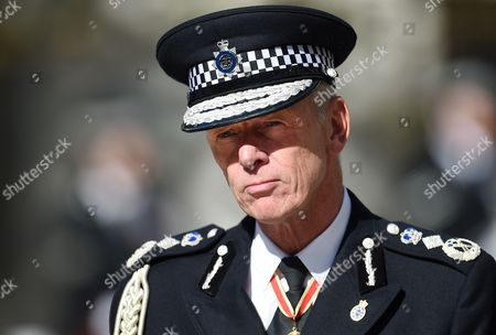 Sir Bernard Hogan-howe London's Metropolitan Police Commissioner Attends the Police Memorial Day Service at St Paul's Cathedral in London Britain 25 September United Kingdom London