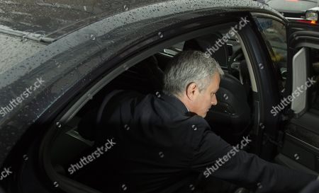 Manchester United Manager Jose Mourinho Leaves South London Employment Tribunal in Croydon South London Britain 07 June 2016 British Media Reports State That Former Chelsea Club Doctor Eva Carneiro Has Settled a Constructive Dismissal Claim Against the Club Carneiro Also Had Separate Legal Action Against Chelsea's Former Manager Mourinho Which Has Been Settled United Kingdom Croydon