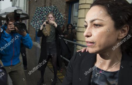 Former Chelsea Doctor Eva Carneiro (r) Leaves South London Employment Tribunal in Croydon South London Britain 07 June 2016 British Media Reports State That Former Chelsea Club Doctor Eva Carneiro Has Settled a Constructive Dismissal Claim Against the Club Carneiro Also Had Separate Legal Action Against Chelsea's Former Manager Mourinho Which Has Also Been Settled United Kingdom Croydon