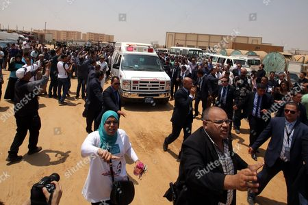 Editorial image of Egypt Ahmed Zewail Funeral - Aug 2016