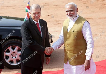 Editorial photo of India Seychelles Diplomacy - Aug 2015