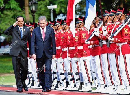 Editorial photo of Indonesia Finnish Diplomacy - Nov 2015