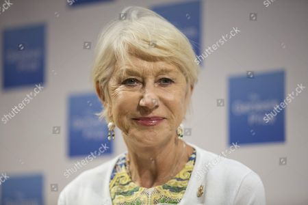 British Actress Helen Mirren Attends a Press Conference in Jerusalem Israel 22 June 2016 Helen Mirren Came to Israel to Award the Israeli-us Violinist Itzhak Perlman with One Million Us Dollar 'Genesis Prize' to Be Held in Jerusalem on 23 June Israel Jerusalem