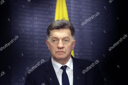 Lithuanian Prime Minister Algirdas Butkevicius the Ukraine and Baltic States Leaders in Riga Latvia 05 November 2015 Heads of Government of Ukraine and the Baltic States Discussed Strengthen Baltic-ukrainian Collaboration Solidarity and Joint Counteraction to the Russian Aggression Against Ukraine As Well As the Development of Political Economic and Humanitarian Cooperation Between Baltic States and Ukraine Latvia Riga