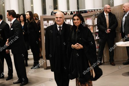 Prince El Hassan Bin Talal of Jordan (l) and Princess Sarvath of Jordan Arrive at the Philharmonie Luxembourg the Grande-duchesse Josephine-charlotte Concert Hall in Luxembourg 09 January 2016 the Royal Family Invited to a Special Concert by the Luxembourg Philharmonic Orchestra to Mark the 95th Birthday of Former Grand Duke Jean on 05 January Luxembourg Luxembourg