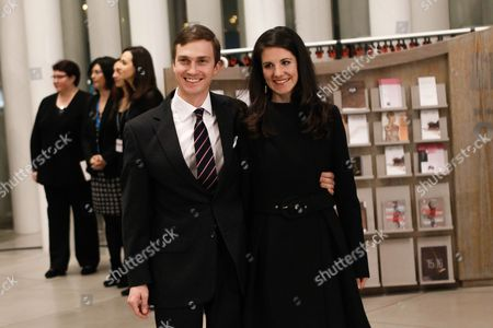 Archduke Christoph of Austria (l) and Archduchess Adelaide of Austria Arrive at the Philharmonie Luxembourg the Grande-duchesse Josephine-charlotte Concert Hall in Luxembourg 09 January 2016 the Royal Family Invited to a Special Concert by the Luxembourg Philharmonic Orchestra to Mark the 95th Birthday of Former Grand Duke Jean on 05 January Luxembourg Luxembourg
