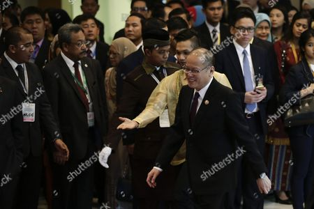 Prime Minister of Philippines Benigno S Aquino Iii (c) Arrives at the Asean Summit in Kuala Lumpur Malaysia 21 November 2015 Malaysia is Hosting the 27th Asean Summit a Meeting Between Asean Member Countries and Its Three Dialogue Partners As Well As a Meeting of the East Asia Summit (eas) Forum Malaysia Kuala Lumpur