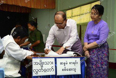 Editorial photo of Myanmar Elections - Nov 2015