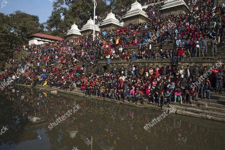 Editorial photo of Nepal People Sushil Koirala Obit - Feb 2016