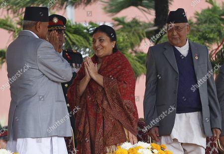 Editorial photo of Nepal Politics Presidency - Oct 2015
