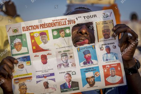 Editorial image of Niger Presidential Elections - Feb 2016
