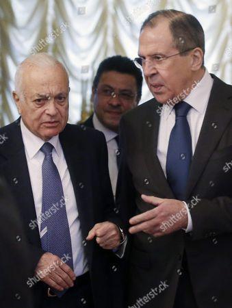 Editorial photo of Russia Arab League Diplomacy - Feb 2016