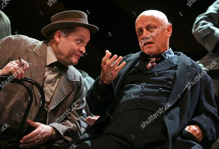 Steven Berkoff and Alex Giannini