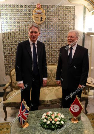 Editorial image of Tunisia Britain Diplomacy - Nov 2015