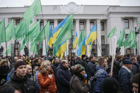 Editorial photo of Ukraine Crisis Protest - Nov 2015