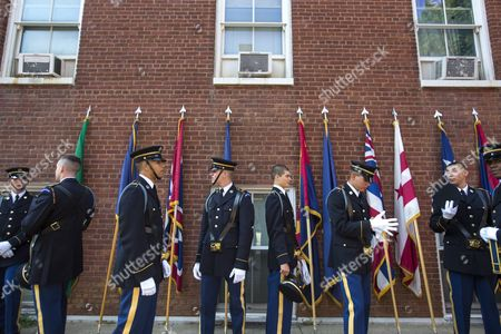 Editorial photo of Usa Defence Change of Command - Aug 2015