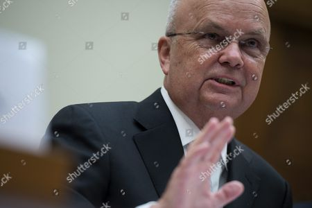 Former Director of the National Security Agency General Michael Hayden Delivers Remarks During a House Foreign Affairs Committee Discussing the Implications of a Nuclear Agreement with Iran on Capitol Hill in Washington Dc Usa 14 July 2015 Earlier in the Day Us President Barack Obama Delivered a Televised Address to the Nation Announcing a Nuclear Agreement with Iran the Us Congress Has 60 Days to Approve Or Reject the Deal United States Washington