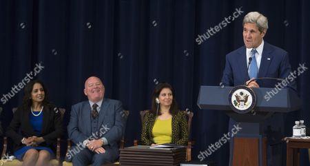 Editorial photo of Usa Kerry Human Trafficking Report - Jul 2015