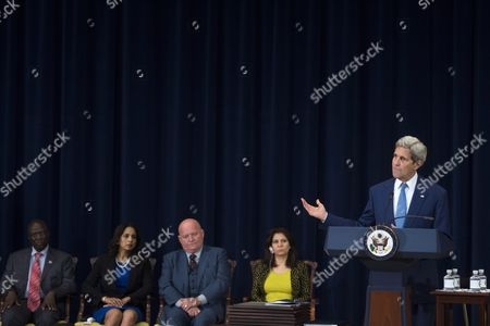 Editorial picture of Usa Kerry Human Trafficking Report - Jul 2015