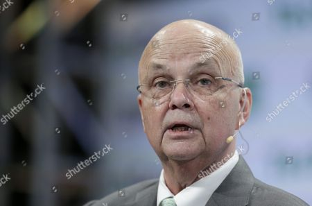 General Michael Hayden Former Director of the National Security Agency and Director of the Central Intelligence Agency Speaks on Stage at Techcrunch Disrupt 2016 New York in Brooklyn New York Usa 11 May 2016 United States Brooklyn