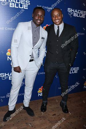 Dayo Okeniyi and Hampton Fluker
