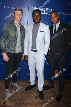 Warren Kole, Dayo Okeniyi and Hampton Fluker