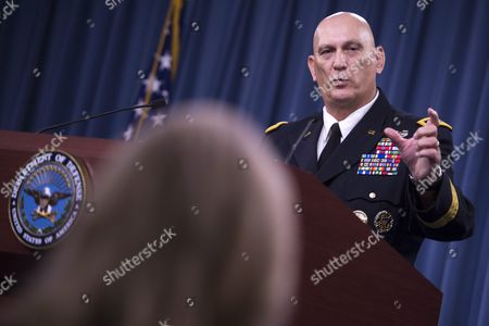 Editorial picture of Usa Pentagon Odierno - Aug 2015