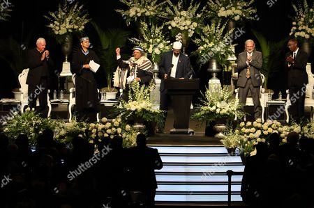 Rabbi Michael Lerner Speaks During the Memorial Service For the Late Muhammad Ali at the Kfc Yum! Center in Louisville Kentucky Usa 10 June 2016 Born Cassius Clay Boxing Legend Muhammad Ali Dubbed As 'The Greatest ' Died on 03 June 2016 in Phoenix Arizona Usa at the Age of 74 United States Louisville
