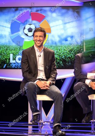 Spanish Former Soccer Player Raul Gonzalez Blanco Former Captain of Real Madrid Soccer Team is Named Director and Ambassador of the Liga De Futbol Profesional (professional Soccer League) in the New Lfp Office That Will Be Opened in New York During a Presser at the Bein Sports Studios in Miami Florida Usa on 28 December 2015 Bein Sports is Broadcasting La Liga and El Larguero Foundations 'La Liga Promises ' the First World Youth Clubs Soccer Tournament in the United States United States Miami