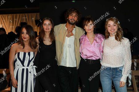 Alice Belaidi, Marie-Ange Casta, Marlon Teixeira, Ana Girardot and Alice Isaaz