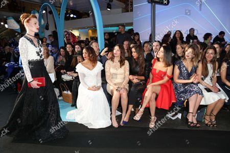 Alicia Fall, Rachel Legrain-Trapani, Malika Menard, Gyselle Soares, Eleonore Boccara and Emmanuelle Boidron