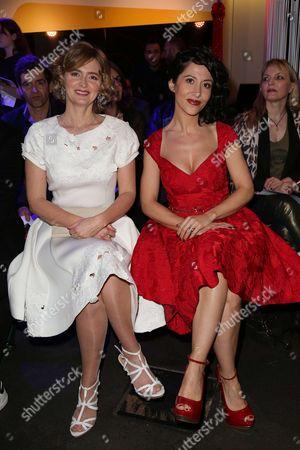 Annabelle Milot and Fabienne Carat