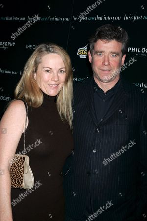 Anne Hearst and writer Jay McInerney