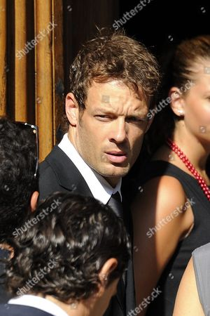 Former Austrian Formula One Racing Driver Alexander Wurz Arrives For the Funeral Ceremony of French Formula One Driver Jules Bianchi Held at the Cathedral of Sainte Reparate in Nice France 21 July 2015 Bianchi Has Died on 17 July 2015 He was 25 Bianchi was Hospitalized After He Suffered Severe Head Injuries when His Car Crashed Into a Crane Which was There to Lift the Crashed Car of Adrian Sutil Off the Track at the Japanese Grand Prix on 05 October 2014 France Nice
