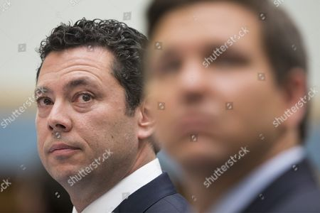 Stock Image of House Oversight and Government Reform Chairman Republican From Utah Jason Chaffetz (l) and Republican Representative From Florida Ron Desantis (r) Testify Before the House Judiciary Committee Hearing 'Examining the Allegations of Misconduct Against Internal Revenue Service (irs) Commissioner John Koskinen' on Capitol Hill in Washington Dc Usa 24 May 2016 Some Republicans in the House Are Calling For the Impeachment of Irs Commissioner Koskinen United States Washington