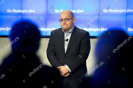Freed 'Washington Post' Journalist Jason Rezaian (c) Attends an Event Celebrating the New Location of the Washington Post in Washington Dc Usa 28 January 2016 Rezaian who was Freed This Month After 545 Days in an Iranian Prison Thanked His Colleagues For Keeping His Story Alive and Us Diplomats For Seeking His Release at a Ceremony Marking the Opening of the Newspaper's New Offices in Washington Rezaian Thanked His Journalist Colleagues For the 'Lengths You Went to Keep My Story Alive' and Us Secretary of State John Kerry and Diplomat Brett Mcgurk who Negotiated His Release United States Washington