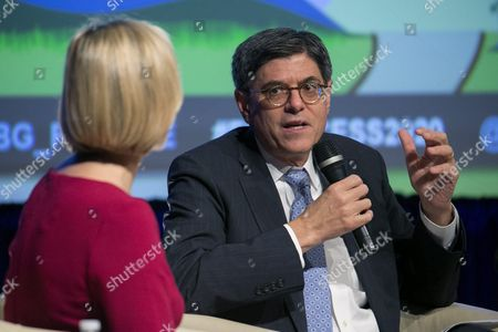 Us Secretary of Treasury Jacob Lew Delivers Remarks During a Discussion on Financial Inclusion not Exclusion: Managing De-risking at World Bank Group Headquarters in Washington Dc Usa 07 October 2016 the 2016 Annual Meetings of the International Monetary Fund and World Bank Group Take Place 7-9 October United States Washington