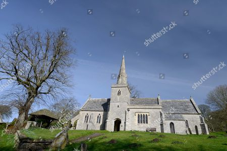 St Michael & All Angels church at Littlebredy known as Axehampton in the TV series, Dorset, UK