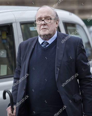 Michael Ancram, Marquess of Lothian arrives at The House of Lords. The Lords are voting on an amendment to the government's Brexit bill today