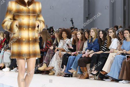 Solange Knowles, Emma Roberts, Isabelle Huppert, Houda Benyamina, Clemence Poesy, Ana Girardot and Oulaya Amamra