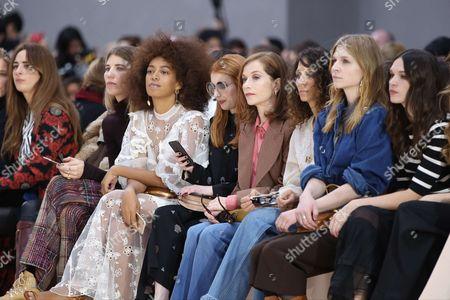 Solange Knowles, Emma Roberts, Isabelle Huppert, Houda Benyamina, Clemence Poesy