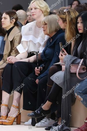 Editorial image of Chloe show, Autumn Winter 2017, Paris Fashion Week, France - 02 Mar 2017