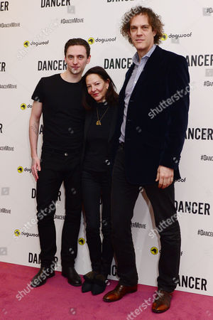 Sergei Polunin with producer Gabrielle Tana and director, Steven Cantor