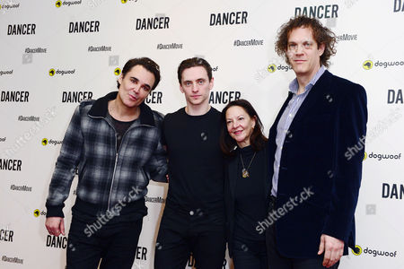 David LaChapelle, Sergei Polunin with producer Gabrielle Tana and director, Steven Cantor