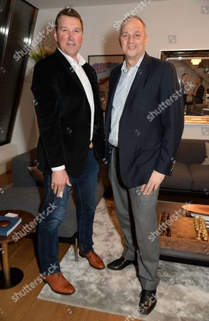 Matthew Pinsent and Sir Steve Redgrave