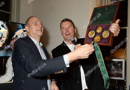 Sir Steve Redgrave and Matthew Pinsent