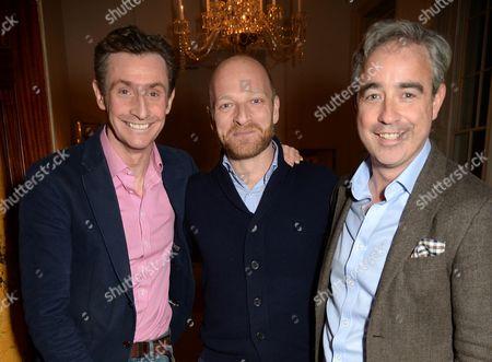 Nick English, Ben Saunders and Giles English