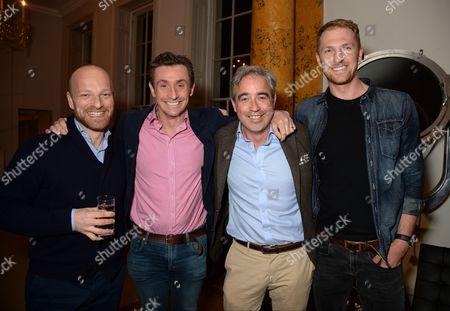 Ben Saunders, Nick English, Giles English and Alex Gregory