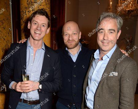 Jake Meyer, Ben Saunders and Giles English